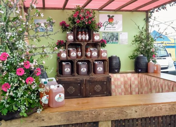 See you at the Devon County Show – better late than never!